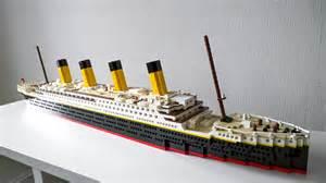 Lego Ship Sinking Titanic by Titanic Brickbuilders Fi Lego Moc Models From Finland