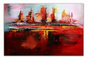 Abstrakte Bilder Online Kaufen : rote kreise k nstler bild kaufen gem lde abstrakt burgstaller ~ Bigdaddyawards.com Haus und Dekorationen