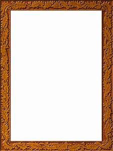 Presentation Photo Frames: Tall Fancy Rectangle, Style 38