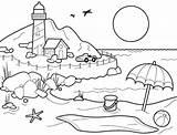 Coloring Beach Pages Printable Ball Sheets Summer Sheet Print Beachy Adults Bestcoloringpagesforkids Drawings Preschoolers Preschool sketch template