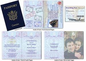 passport wedding invitations template free download With passport wedding invitations template free download
