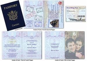 passport wedding invitations template free download With passport wedding program template