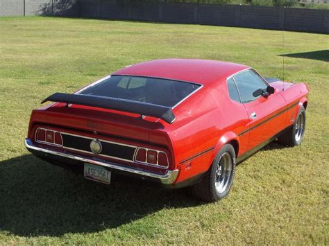 1973 ford mustang fastback 1973 ford mustang mach 1 fastback 163251