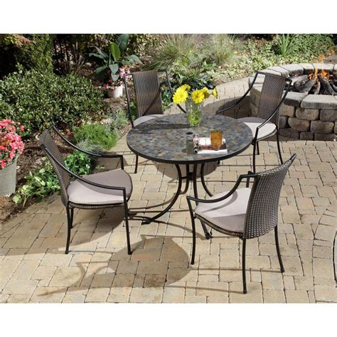 home styles harbor 5 patio dining set
