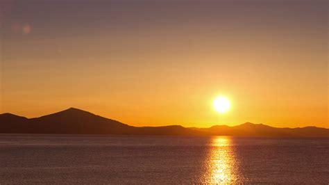 Sun Background 4k Scenic Background Sun Rising