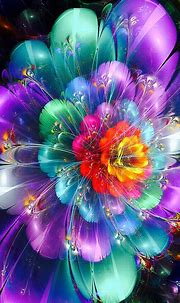 17 Best images about Beautiful Flower Fractal Art on ...