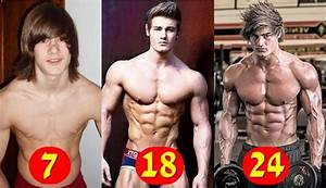 Jeff Seid Body Transformation From Age 5 To 24 Years Old