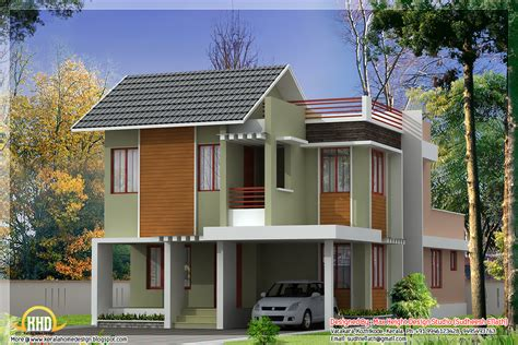 8 Star Home Designs : 3 Beautiful Modern Home Elevations