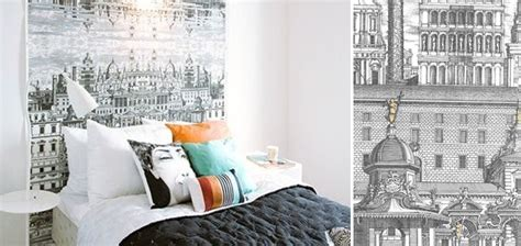 couleurs chambre à coucher papierpeint9 papier peint tendance chambre