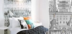 Papier Peint Chambre Adulte Tendance : papierpeint9 papier peint tendance chambre ~ Preciouscoupons.com Idées de Décoration
