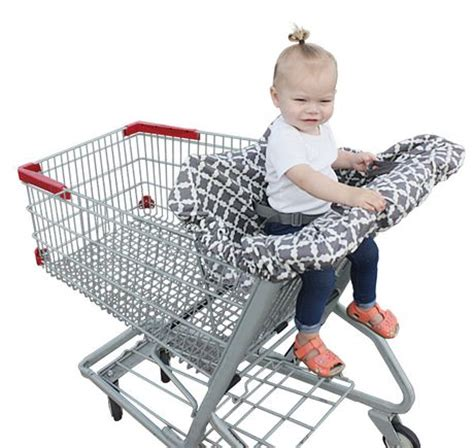 siege caddie jolly jumper shopping cart cover with safety belt