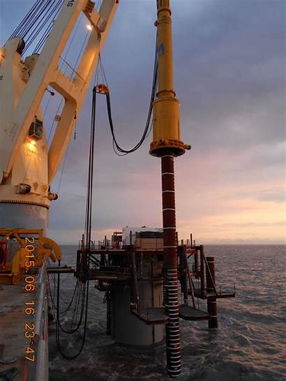 Offshore Ocs Pile Platform Piling Driving