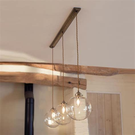 lighting for kitchens ideas holborn pendant track in antiqued brass lighting