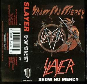 Slayer - Show No Mercy (Cassette, Album) at Discogs