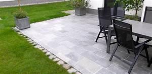 Feinsteinzeug Auf Splitt Verlegen : mit terrassenplatten aus quarzit den outdoorbereich gestalten del ~ Markanthonyermac.com Haus und Dekorationen