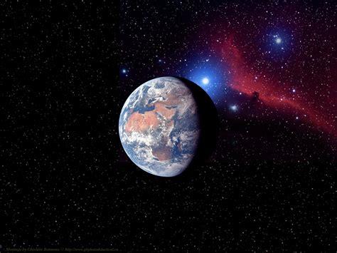 Sun And Moon Backgrounds Nasa Earth Wallpaper Wallpapersafari
