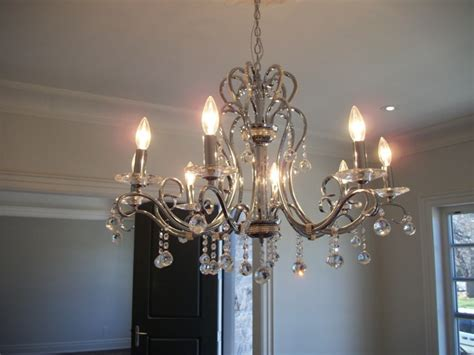 dining room chandelier size chandelier