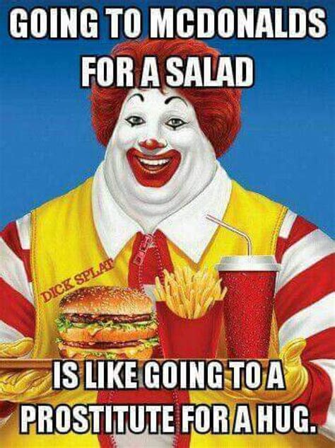 Macdonald Meme - going to mcdonalds meme