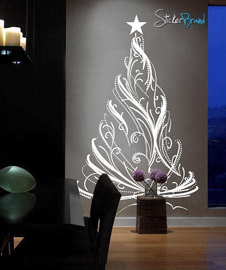 vinyl wall decal sticker christmas tree