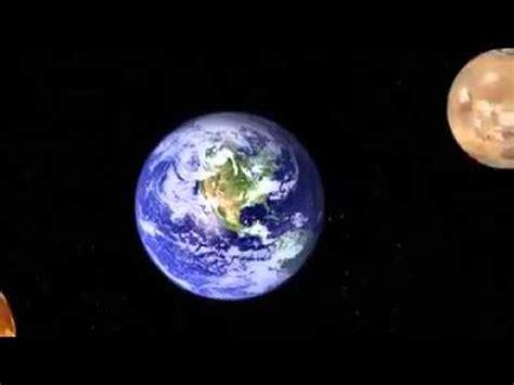 Earth Moon Sun Galaxy Milky Way Universe Etc Youtube