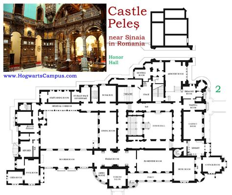 chateau floor plans peles castle floor plan 2nd floor