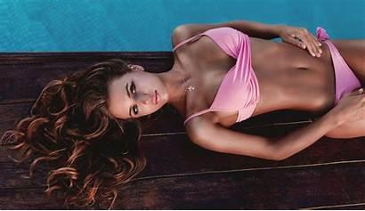 Bikini Flat Belly Swimming Pool Erowall Tanned