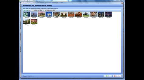 reihenfolge bilder aendern mit der fotoverwaltung youtube