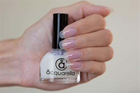 Acquarella Conditioner Is Like A Super Strong Clear Nail
