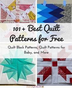 101+ Best Quilt Patterns for Free: Quilt Block Patterns