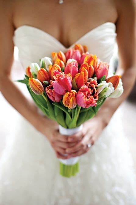 tulip bridal bouquet ps photography flowers  charlotte
