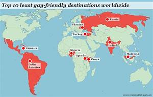 Top 10 least gay-friendly travel destinations. Travel like ...