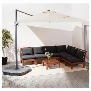Ikea Sonnenschirm Seglarö : seglar svart parasol vrijhangend met voet kantelbaar beige donkergrijs 330x240 cm ikea ~ Eleganceandgraceweddings.com Haus und Dekorationen