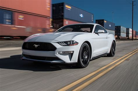 ford mustang ecoboost 2018 2018 ford mustang ecoboost test chip on its