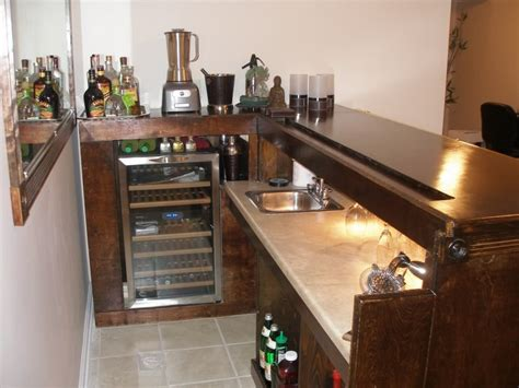Cheap Kitchen Makeover Ideas - 52 basement bar build how to repairs how to build a bar pipes funnel how to build a bar top