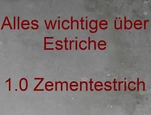 Estrich Im Außenbereich : zementestrich fliesen fieber ~ Markanthonyermac.com Haus und Dekorationen