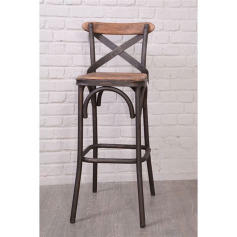 cdiscount chaise de bar chaise de bar loft 39 nola 39 casita achat vente tabouret
