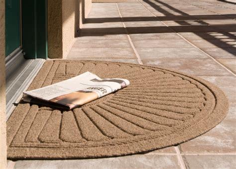 half oval entrance mat waterhog eco grand premier