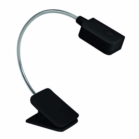 small clip on light booklight led ebook light mini flexible bright clip on
