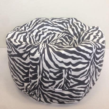 Zebra Ottoman Walmart - boscoman beanbag animal print zebra walmart