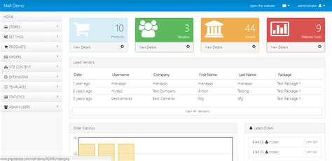 How To Create Template In Php by 10 Fascinating Php Admin Templates Hacker Noon