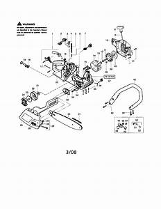 Poulan 1950 Type 7 Gas Chainsaw Parts
