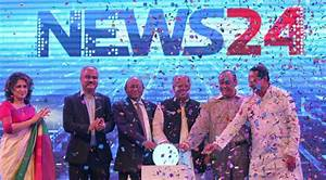 Satellite TV channel News24 launched - Sayem Sobhan ...