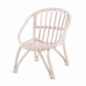 Chaise Enfant Rotin : chaise enfant en rotin rose clair maisons du monde ~ Teatrodelosmanantiales.com Idées de Décoration