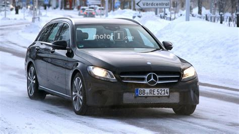 Modifikasi Mercedes C Class Estate by 2018 Mercedes C Class Estate Facelift Photos Motor1
