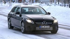 Mercedes Classe C Restylée 2018 : 2018 mercedes c class estate facelift spied with new touchpad ~ Maxctalentgroup.com Avis de Voitures
