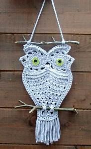 wonderful diy macrame owls