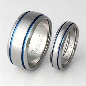 titanium ring set his and hers matching titanium wedding With titanium wedding rings his and hers