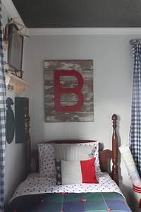 Cozy Vintage Boys Room - Design Dazzle