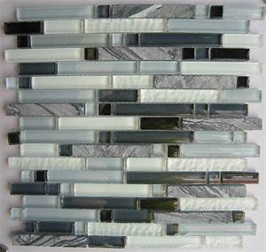 White marble mosaic tile glass mosaic tile kitchen ...