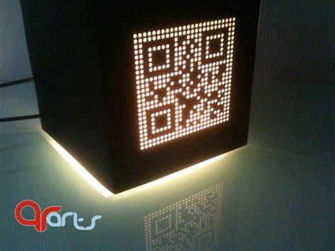 cool qr code inspired products  designs part